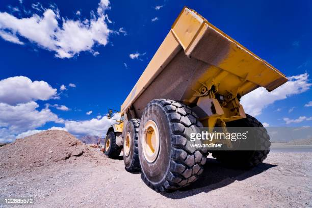 Heavy Equipment Dump Truck