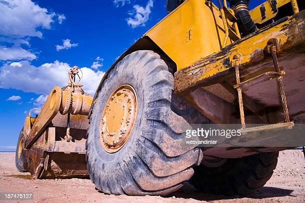Heavy Equipment Scraper