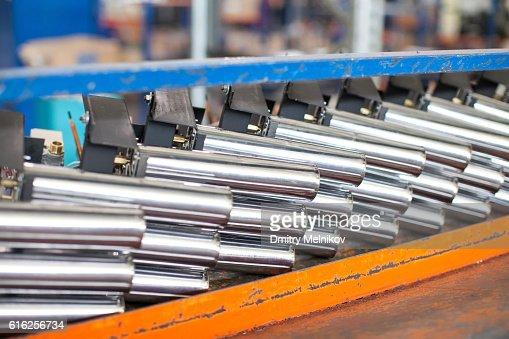 Heavy metallugriya. Easy metallurgy. Work with metal. Production : Stock Photo
