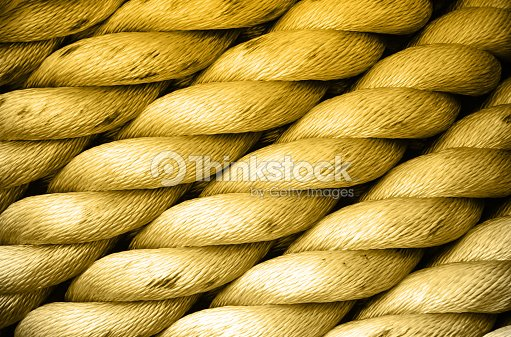 Heavy nautical rope in diagonal stock photo thinkstock for Heavy rope for nautical use