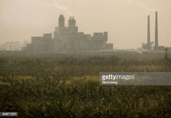Heavy pollution from a coalburning power plant hangs over a cash crop farm in Guangzhou China March 11 2004 'China needs to get serious on the...