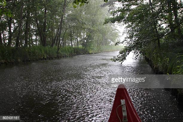 Heavy rain during Kayak tour