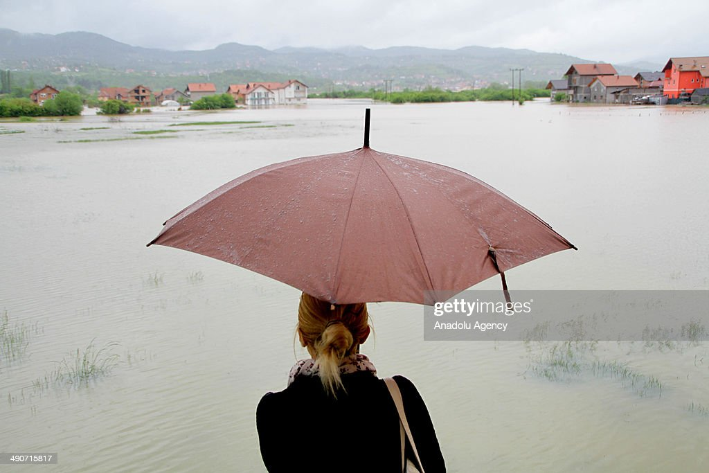 Heavy rainfall continues for 2 days cause to flood in Sarajevo Bosnia and Herzegovina on 14 May 2014 The large part of Ilca district of Sarajevo...