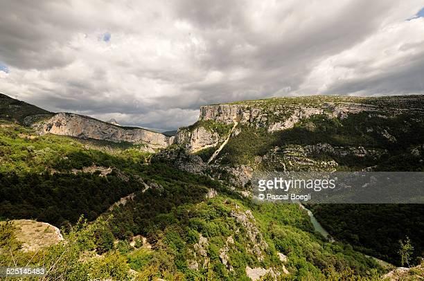 Heavy sky - Verdon Gorge