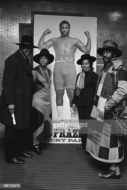 Heavy Weight World Boxing Championship Between Joe Frazier Muhammad Ali At Madison Square Garden In New York The Battle Of The Century Le 8 mars 1971...
