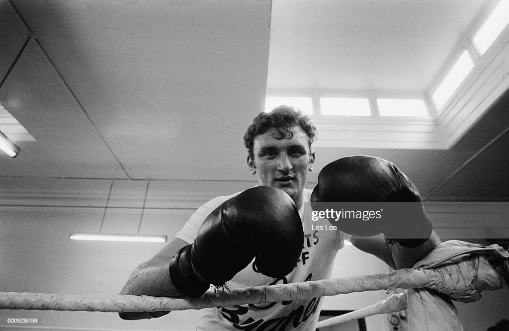 Heavyweight boxer <a gi-track='captionPersonalityLinkClicked' href=/galleries/search?phrase=Joe+Bugner&family=editorial&specificpeople=239003 ng-click='$event.stopPropagation()'>Joe Bugner</a> in training, UK, 12th March 1970.