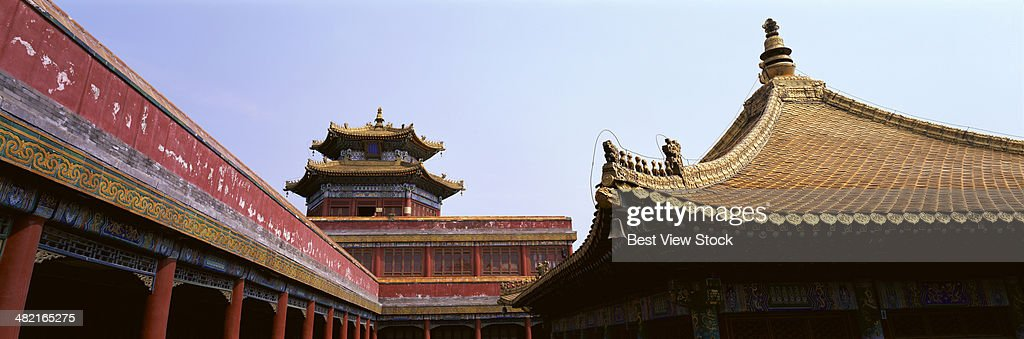 Hebei Chengde Mountain Resort and Eight Outer Temples Panchen small Potala palace