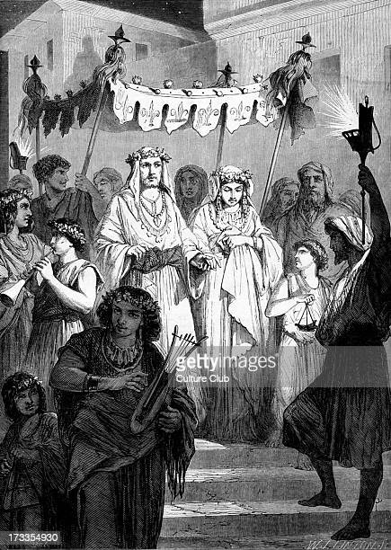 Hebrew bridal procession Bible Solomon 's Song V The power and sweetness of love