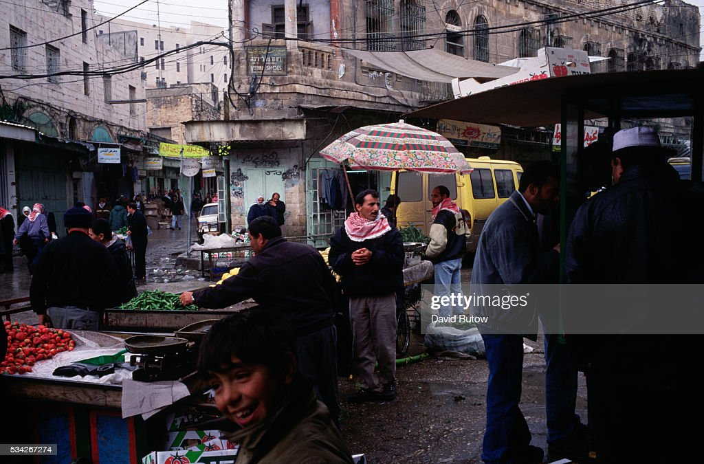 This market in Hebron is often closed due to curfews