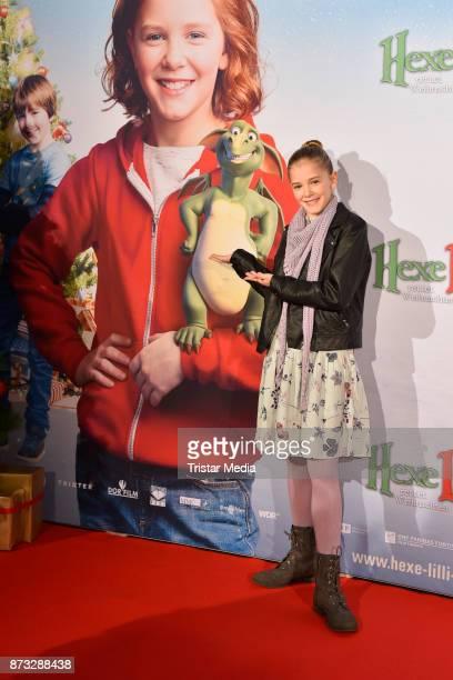 Hedda Erlebach attends the premiere of 'Hexe Lilli rettet Weihnachten' at Kino in der Kulturbrauerei on November 12 2017 in Berlin Germany