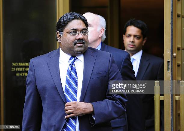 Hedge fund manager convicted of insider trading Raj Rajaratnam leaves court after he was sentenced to 11 years in jail in New York October 13 2011...