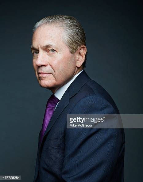 Hedgefund investor J Tomilson Hill is photographed for Institutional Investor Magazine on August 6 2014 in New York City COVER IMAGE