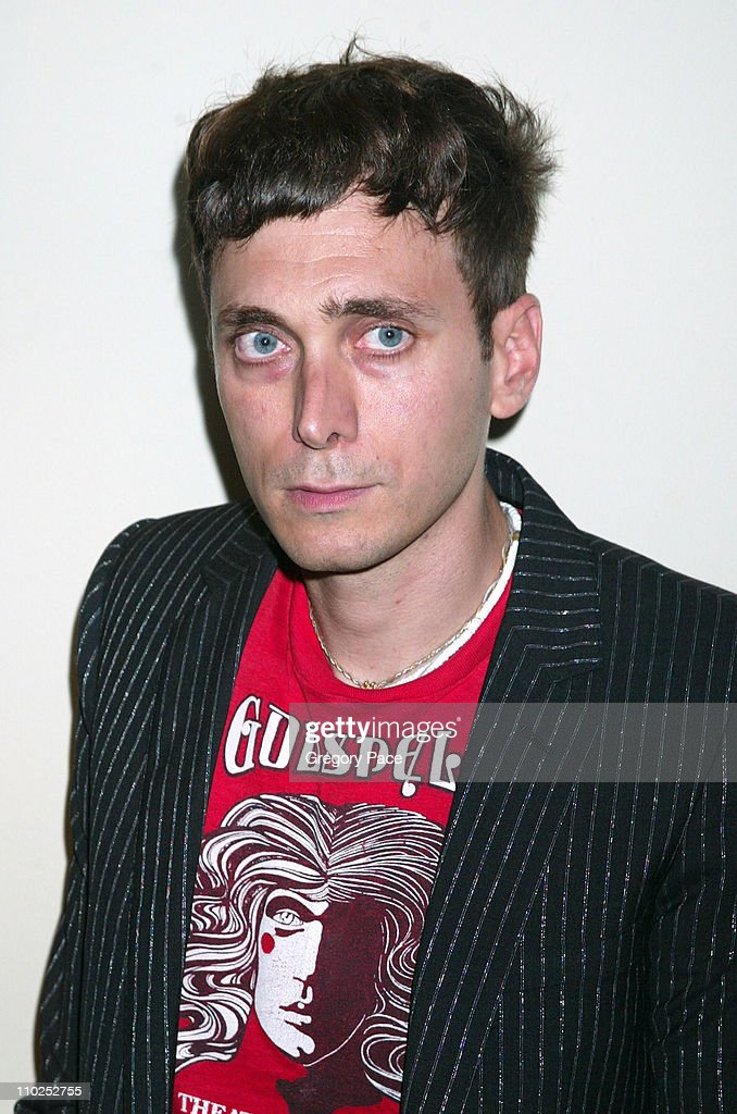 Hedi Slimane during 'Last Days' New York City Premiere - Inside Arrivals at The Sunshine Theatre in New York City, New York, United States.
