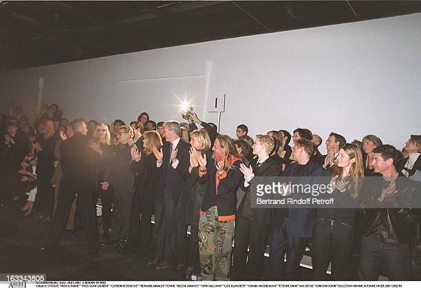 Hedi Slimane' 'Yves Saint Laurent' 'Catherine Deneuve' 'Bernard Arnault' Femme 'Helene Arnault' 'John Galliano' 'Cate Blanchett' 'Chiara Mastroianni'...