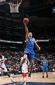 Hedo Turkoglu of the Orlando Magic puts up a shot against the Atlanta Hawks at Philips Arena on March 22 2008 in Atlanta Georgia NOTE TO USER User...
