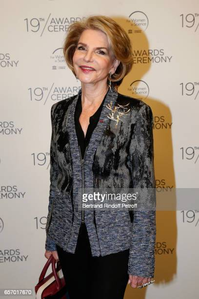 Hedva Ser attends the '2017 L'Oreal UNESCO for Women in Science' 19th Awards Ceremony at Maison de la Mutualite on March 23 2017 in Paris France