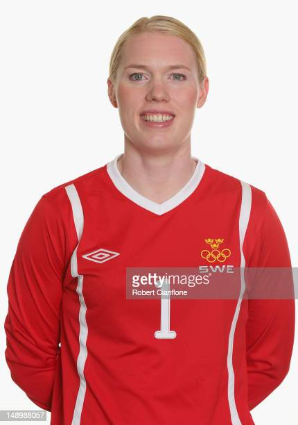 Hedvig Lindahl of Sweden poses for a portrait on July 21 2012 in Coventry England