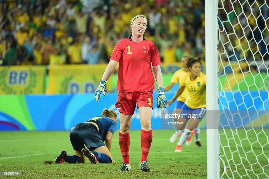 Brazil v Sweden: Women's Football - Olympics: Day 1