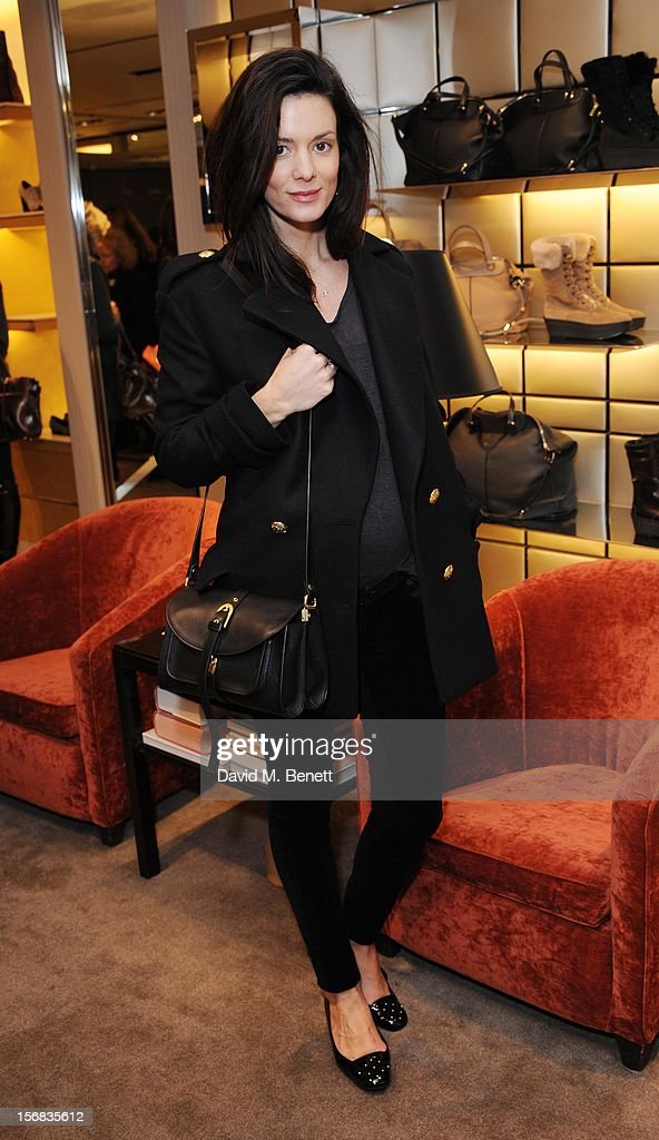 Hedvig Opshaug attends 'Tod's Vendanges on Bond' at the Tod's Bond Street Boutique on November 22, 2012 in London, England.