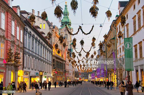 Heeren street on Christmas time