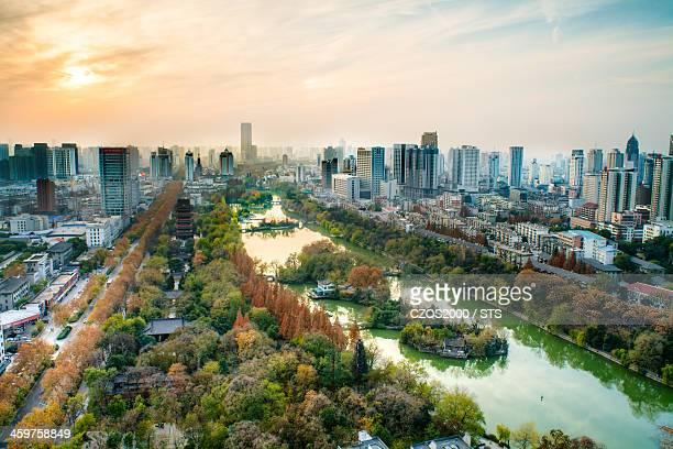 Hefei cityscape