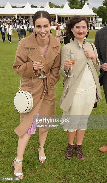 Heida Reed and Ruby Bentall attend day two of the Audi Polo Challenge at Coworth Park on May 31 2015 in London England