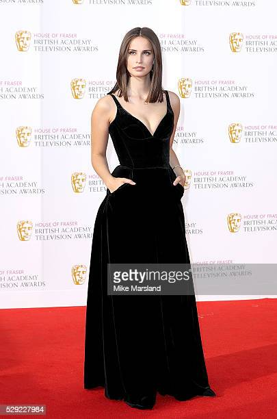 Heida Reed arrives for the House Of Fraser British Academy Television Awards 2016 at the Royal Festival Hall on May 8 2016 in London England