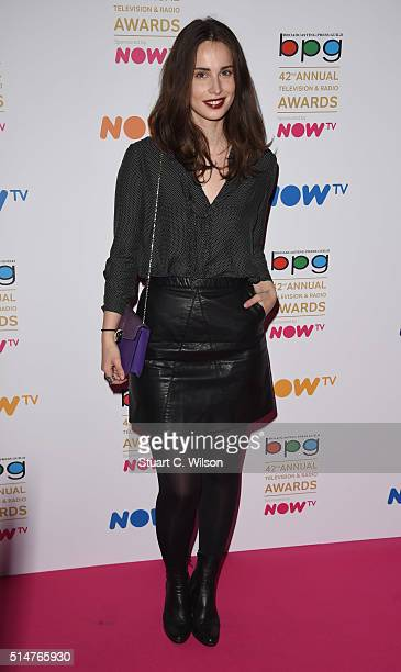 Heida Reed attends the Broadcasting Press Guild Television Radio Awards at Theatre Royal on March 11 2016 in London England