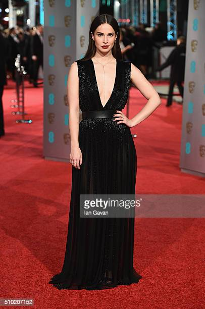 Heida Reed attends the EE British Academy Film Awards at the Royal Opera House on February 14 2016 in London England