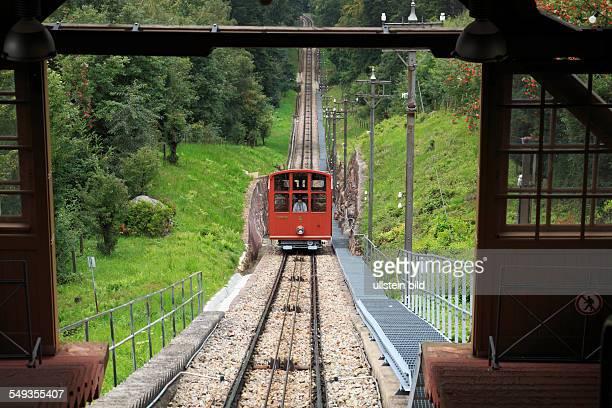 Heidelberger Bergbahn or Heidelberg Mountain Railway is a two section funicular railway