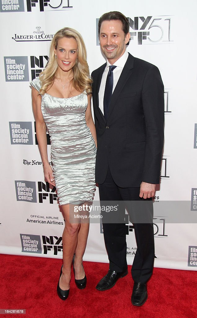 Heidi Albertsen and Prescott Caballero attend the Closing Night Gala Presentation Of 'Her' during the 51st New York Film Festival at Alice Tully Hall at Lincoln Center on October 12, 2013 in New York City.