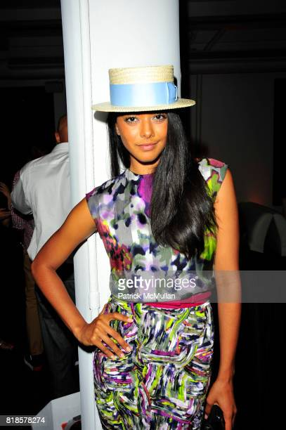 Heidi Allende attend RUSSELL SIMMONS MACY'S celebrate RUSSELL SIMMONS ARGYLECULTURE FALL 2010 Menswear Presentation at Ampersand Studios on August...