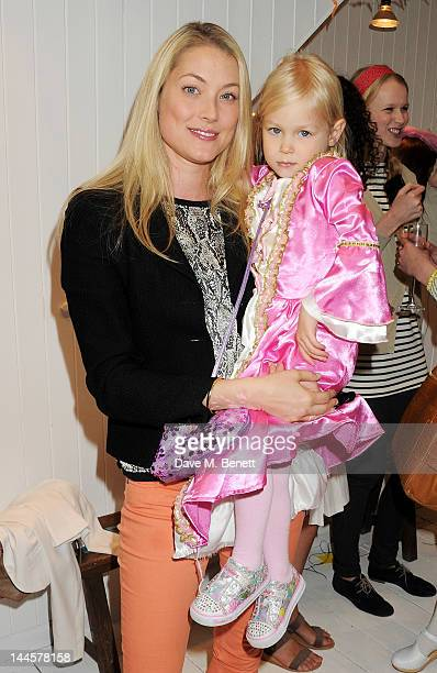 Heidi Bishop attends the launch of the Natalia Dress inspired by Natalia Vodianova to benefit her Naked Heart Foundation at Caramel BabyChild on May...