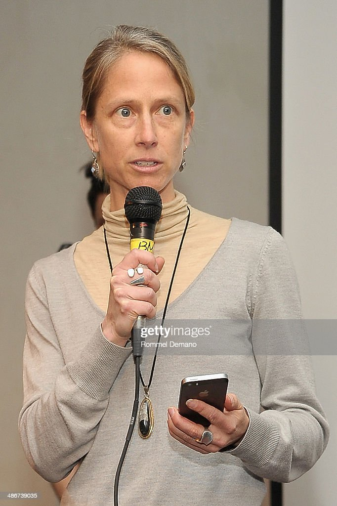 Heidi Boisvert of Team Faceless speaks at the Tribeca Hacks (Mobile) Presentation during the 2014 Tribeca Film Festival at Bennett Space on April 25, 2014 in New York City.