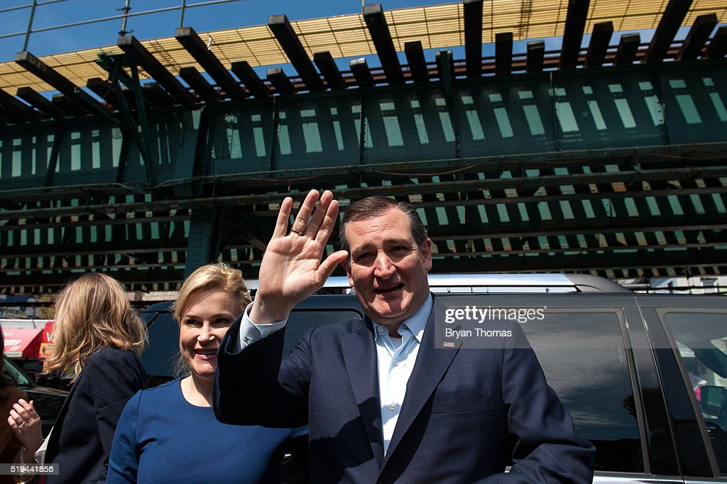 Ted Cruz Campaigns In New York