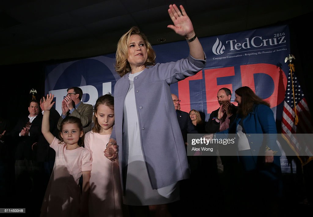 GOP Presidential Candidate Ted Cruz Holds Primary Watch Party In Columbia, SC