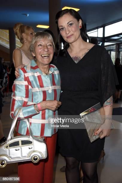 Heidi Hetzer and Lina van de Mars attend the Victress Awards Gala 2017 on May 8 2017 in Berlin Germany
