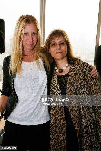 Heidi Kelso and Annie O'Hayan attend THE COOPER SQUARE HOTEL MINIBAR EXCLUSIVES UNVEILING at Cooper Square Hotel Penthouse on April 21 2009 in New...