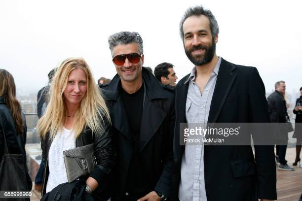 Heidi Kelso Fabrizio Brienza and Jeb Colwell attend THE COOPER SQUARE HOTEL MINIBAR EXCLUSIVES UNVEILING at Cooper Square Hotel Penthouse on April 21...