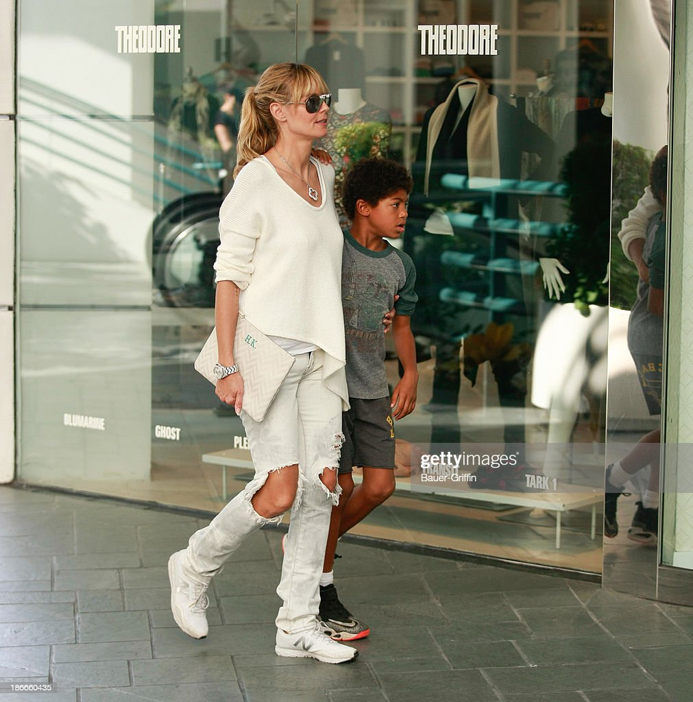<a gi-track='captionPersonalityLinkClicked' href=/galleries/search?phrase=Heidi+Klum&family=editorial&specificpeople=178954 ng-click='$event.stopPropagation()'>Heidi Klum</a> and <a gi-track='captionPersonalityLinkClicked' href=/galleries/search?phrase=Henry+Samuel&family=editorial&specificpeople=3216044 ng-click='$event.stopPropagation()'>Henry Samuel</a> are seen on November 2, 2013 in Los Angeles, California.