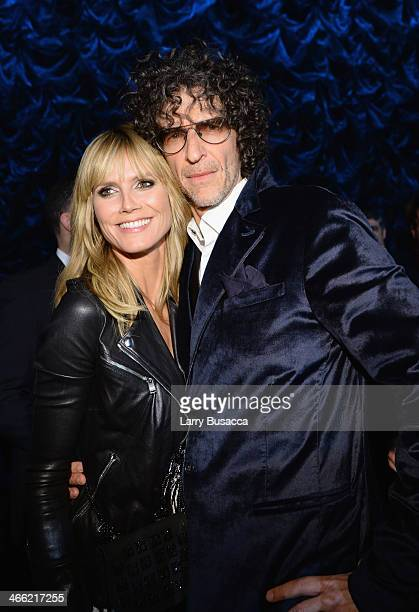 Heidi Klum and Howard Stern attend 'Howard Stern's Birthday Bash' presented by SiriusXM produced by Howard Stern Productions at Hammerstein Ballroom...
