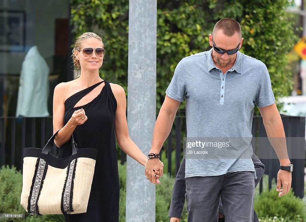 <a gi-track='captionPersonalityLinkClicked' href=/galleries/search?phrase=Heidi+Klum&family=editorial&specificpeople=178954 ng-click='$event.stopPropagation()'>Heidi Klum</a> and <a gi-track='captionPersonalityLinkClicked' href=/galleries/search?phrase=Martin+Kristen&family=editorial&specificpeople=9722821 ng-click='$event.stopPropagation()'>Martin Kristen</a> are seen on April 30, 2013 in Los Angeles, California.