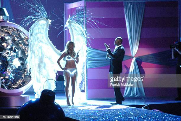 Heidi Klum and Seal attend 10th VICTORIA'S SECRET FASHION SHOW Runway at Lexington Avenue Armory on November 9 2005 in New York City