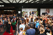 Heidi Klum appears at Myer Melbourne on January 27 2016 in Melbourne Australia