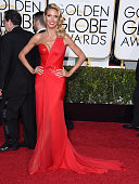 Heidi Klum arrives at the 72nd Annual Golden Globe Awards at The Beverly Hilton Hotel on January 11 2015 in Beverly Hills California