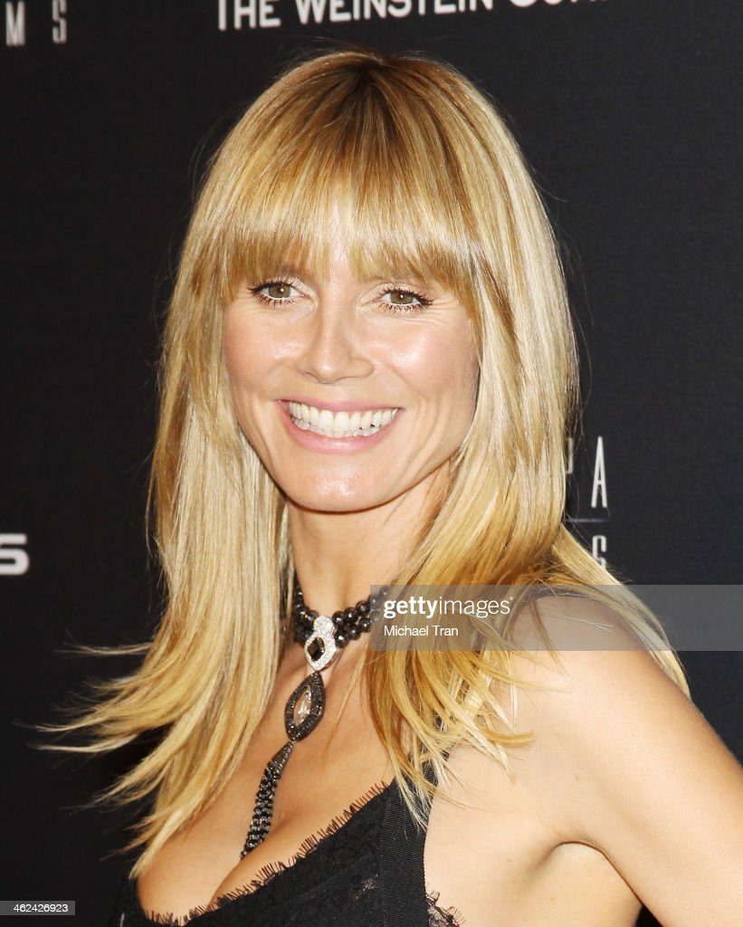 <a gi-track='captionPersonalityLinkClicked' href=/galleries/search?phrase=Heidi+Klum&family=editorial&specificpeople=178954 ng-click='$event.stopPropagation()'>Heidi Klum</a> arrives at The Weinstein Company and NetFlix 2014 Golden Globe Awards after party held on January 12, 2014 in Beverly Hills, California.