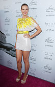 Heidi Klum arrives to her Summer 2010 Collection launch event held at A Pea In The Pod on May 26 2010 in Beverly Hills California