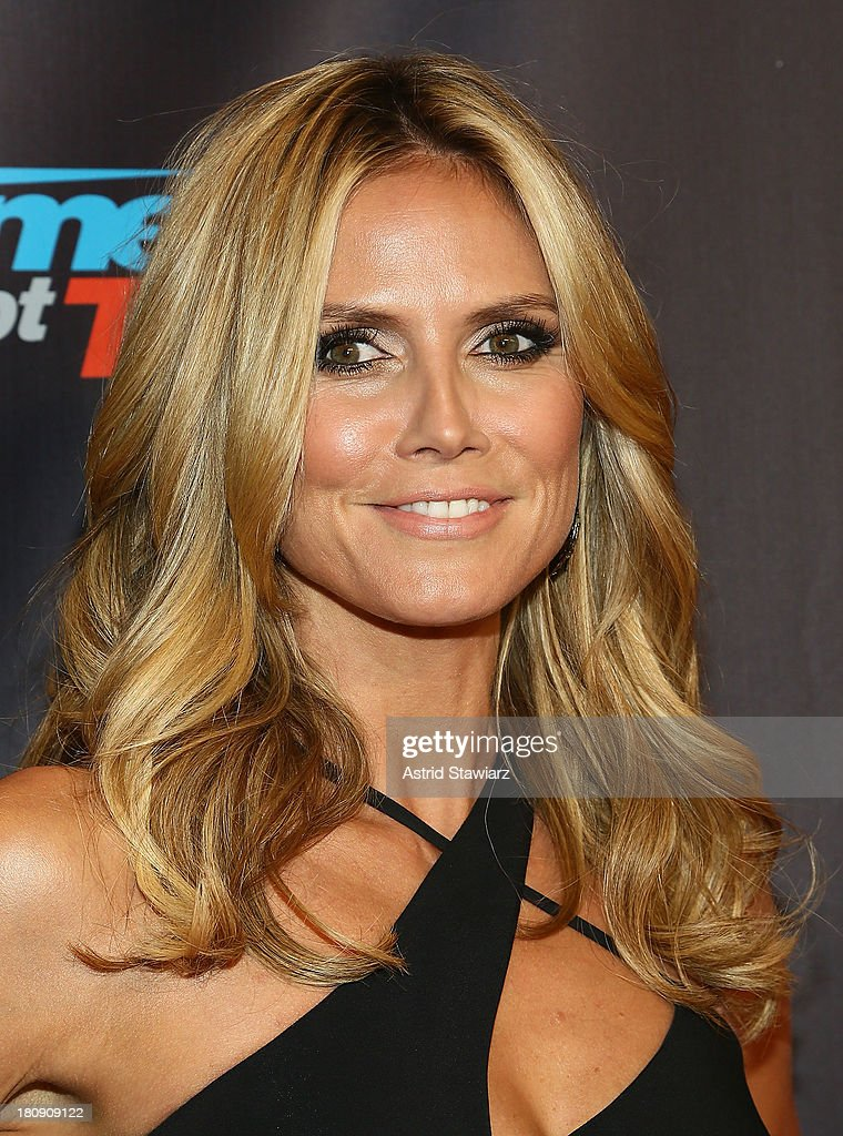 <a gi-track='captionPersonalityLinkClicked' href=/galleries/search?phrase=Heidi+Klum&family=editorial&specificpeople=178954 ng-click='$event.stopPropagation()'>Heidi Klum</a> attends 'America's Got Talent' Season 8 Pre-Show Red Carpet Event at Radio City Music Hall on September 17, 2013 in New York City.