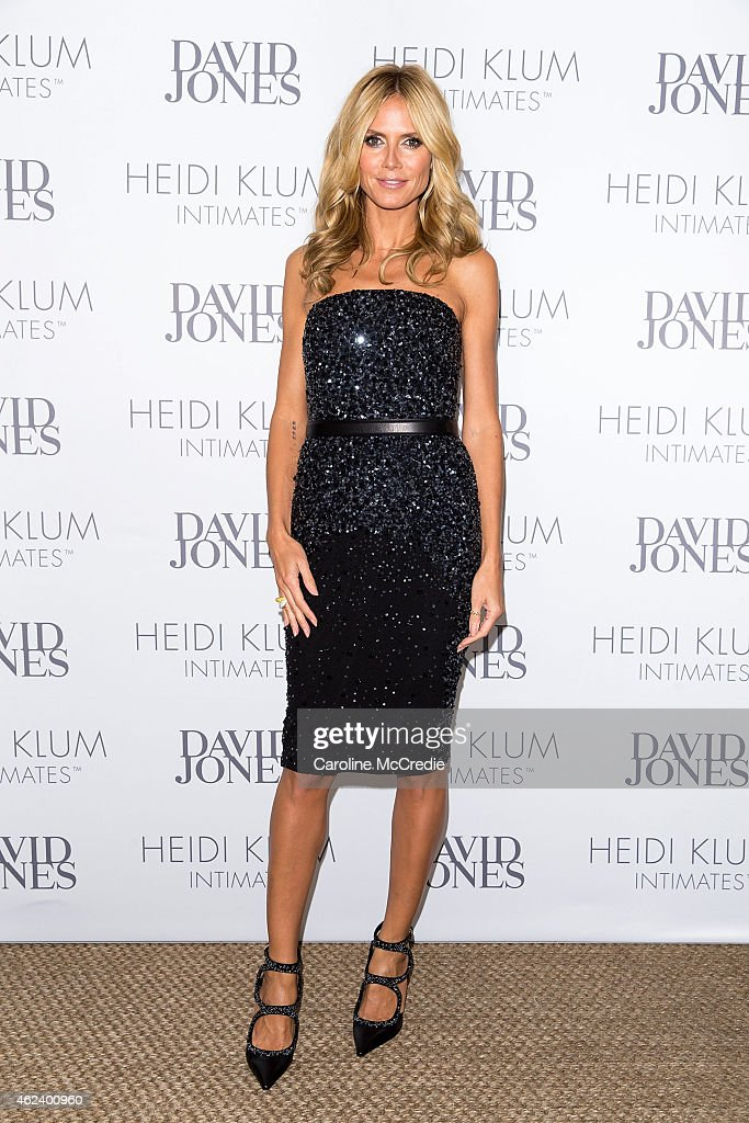 <a gi-track='captionPersonalityLinkClicked' href=/galleries/search?phrase=Heidi+Klum&family=editorial&specificpeople=178954 ng-click='$event.stopPropagation()'>Heidi Klum</a> attends an intimate dinner for <a gi-track='captionPersonalityLinkClicked' href=/galleries/search?phrase=Heidi+Klum&family=editorial&specificpeople=178954 ng-click='$event.stopPropagation()'>Heidi Klum</a> Intimates hosted by David Jones at Guillaume, Sydney Australia on January 28, 2015 in Sydney, Australia.