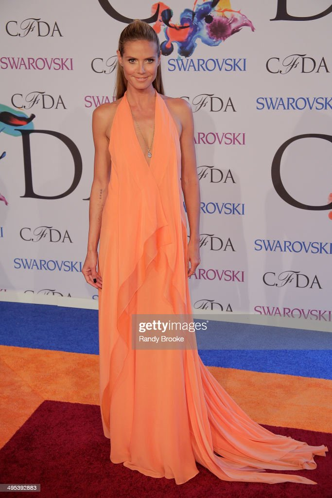 <a gi-track='captionPersonalityLinkClicked' href=/galleries/search?phrase=Heidi+Klum&family=editorial&specificpeople=178954 ng-click='$event.stopPropagation()'>Heidi Klum</a> attends at Alice Tully Hall, Lincoln Center on June 2, 2014 in New York City.